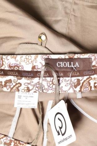 Пола, Размер M, Цвят Бежов, 96% памук, 4% еластан, Цена 4,82лв.