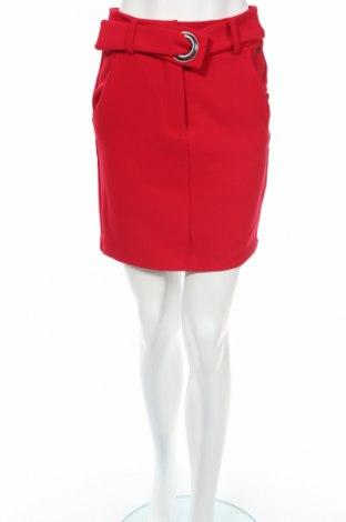 Φούστα Armani Exchange, Μέγεθος XS, Χρώμα Κόκκινο, 65% πολυεστέρας, 32% βισκόζη, 3% ελαστάνη, Τιμή 32,16€