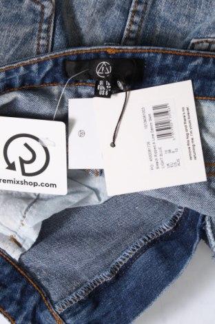 Пола Missguided, Размер M, Цвят Син, 95% памук, 5% еластан, Цена 36,40лв.
