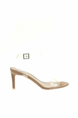Sandale NLY, Mărime 40, Culoare Alb, Poliuretan, Preț 79,37 Lei