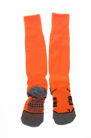Детски спортни чорапи Erima, Размер 7-8y/ 128-134 см, Цвят Оранжев, 77% полиестер, 16% памук, 4% еластан, 3% полиуретан, Цена 16,56лв.