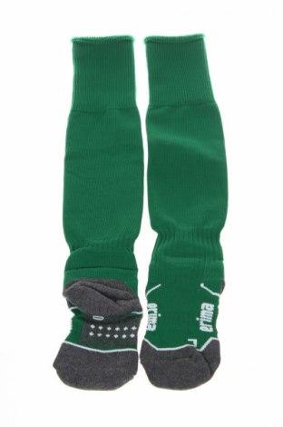 Детски спортни чорапи Erima, Размер 4-5y/ 110-116 см, Цвят Зелен, 77% полиестер, 16% памук, 4% еластан, 3% полиуретан, Цена 16,56лв.