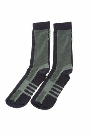 Спортни чорапи Santini, Размер M, Цвят Зелен, 96% полиамид, 4% еластан, Цена 20,25лв.