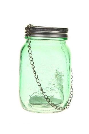 Свещник фенер H&S, Цвят Зелен, Стъкло, Цена 14,80лв.