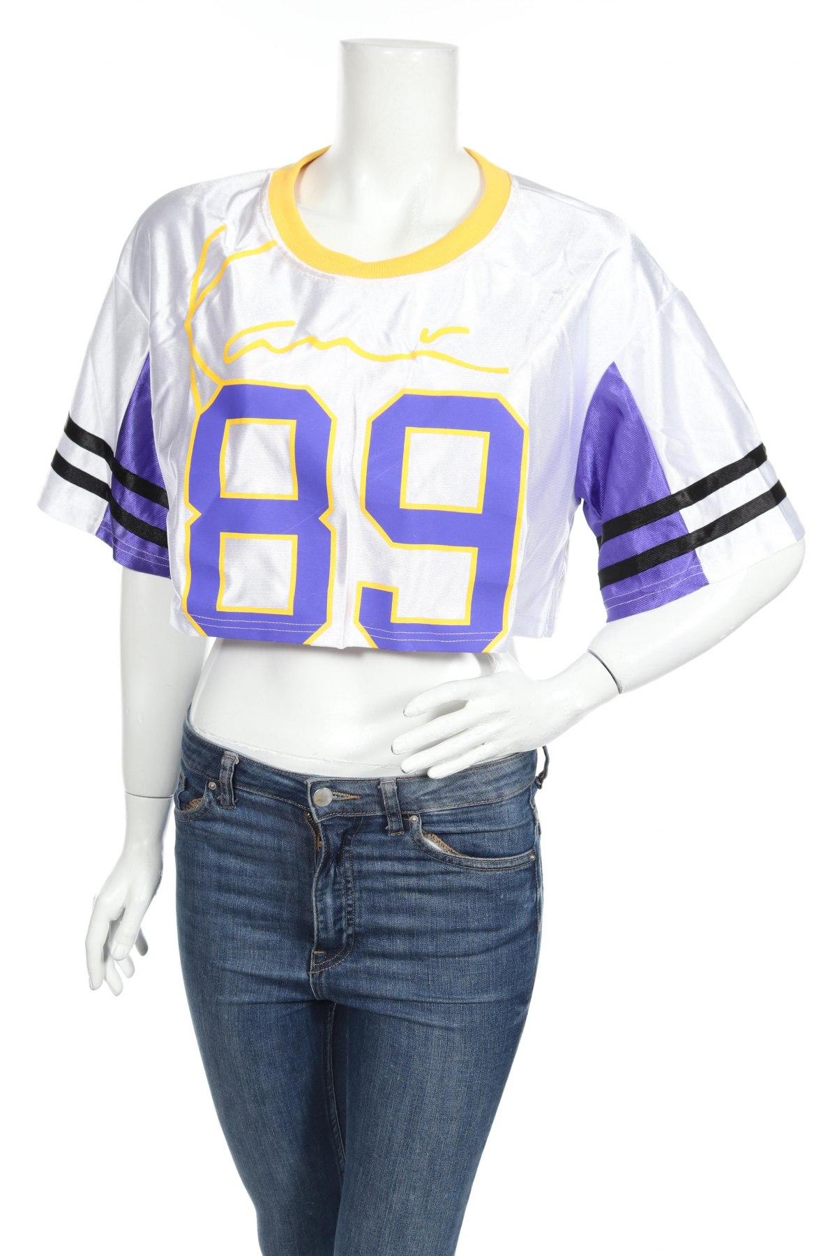 Дамска спортна блуза Pretty Little Thing, Размер XL, Цвят Многоцветен, Полиестер, Цена 3,06лв.