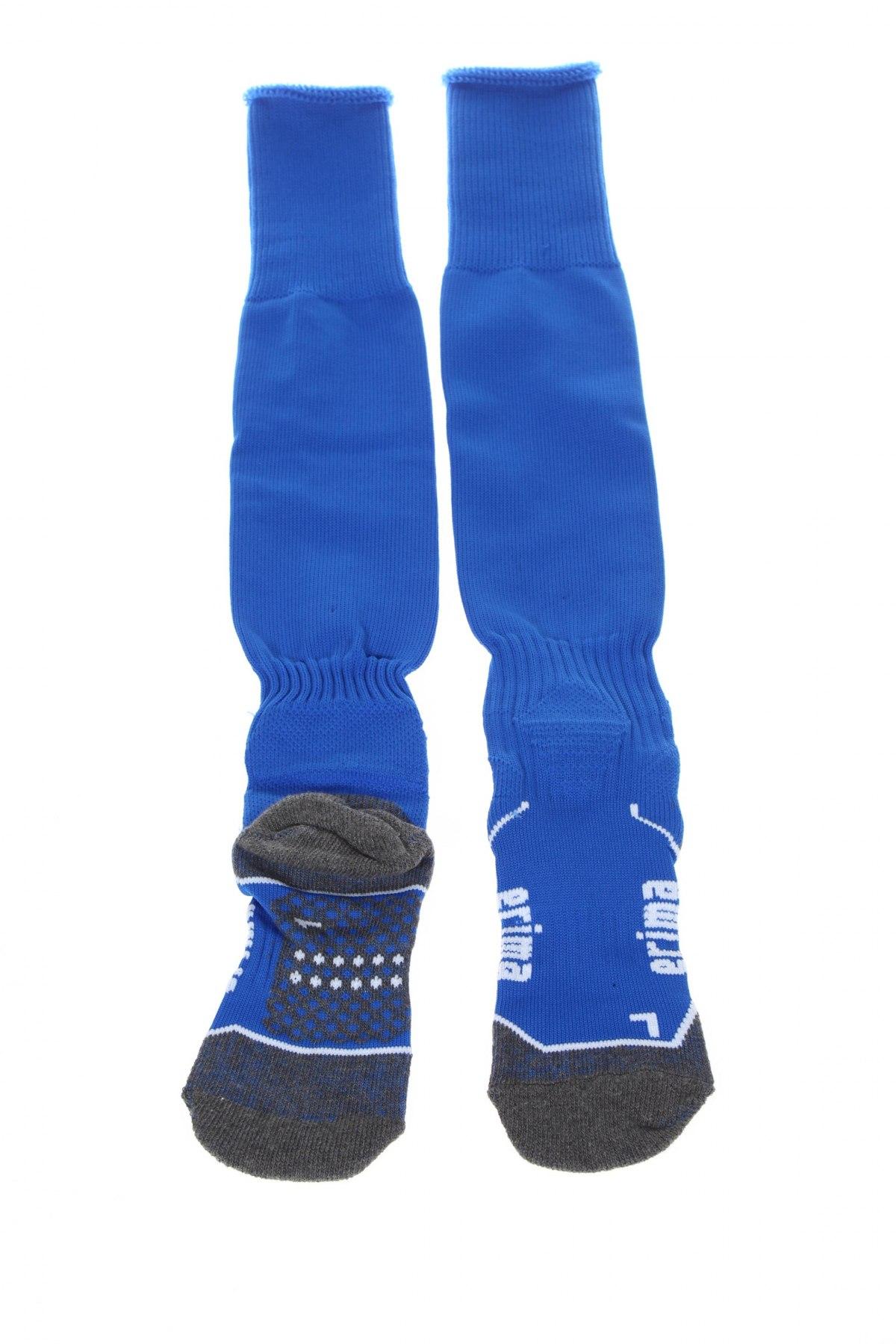 Детски спортни чорапи Erima, Размер 7-8y/ 128-134 см, Цвят Син, 77% полиестер, 16% памук, 4% еластан, 3% полиуретан, Цена 16,56лв.