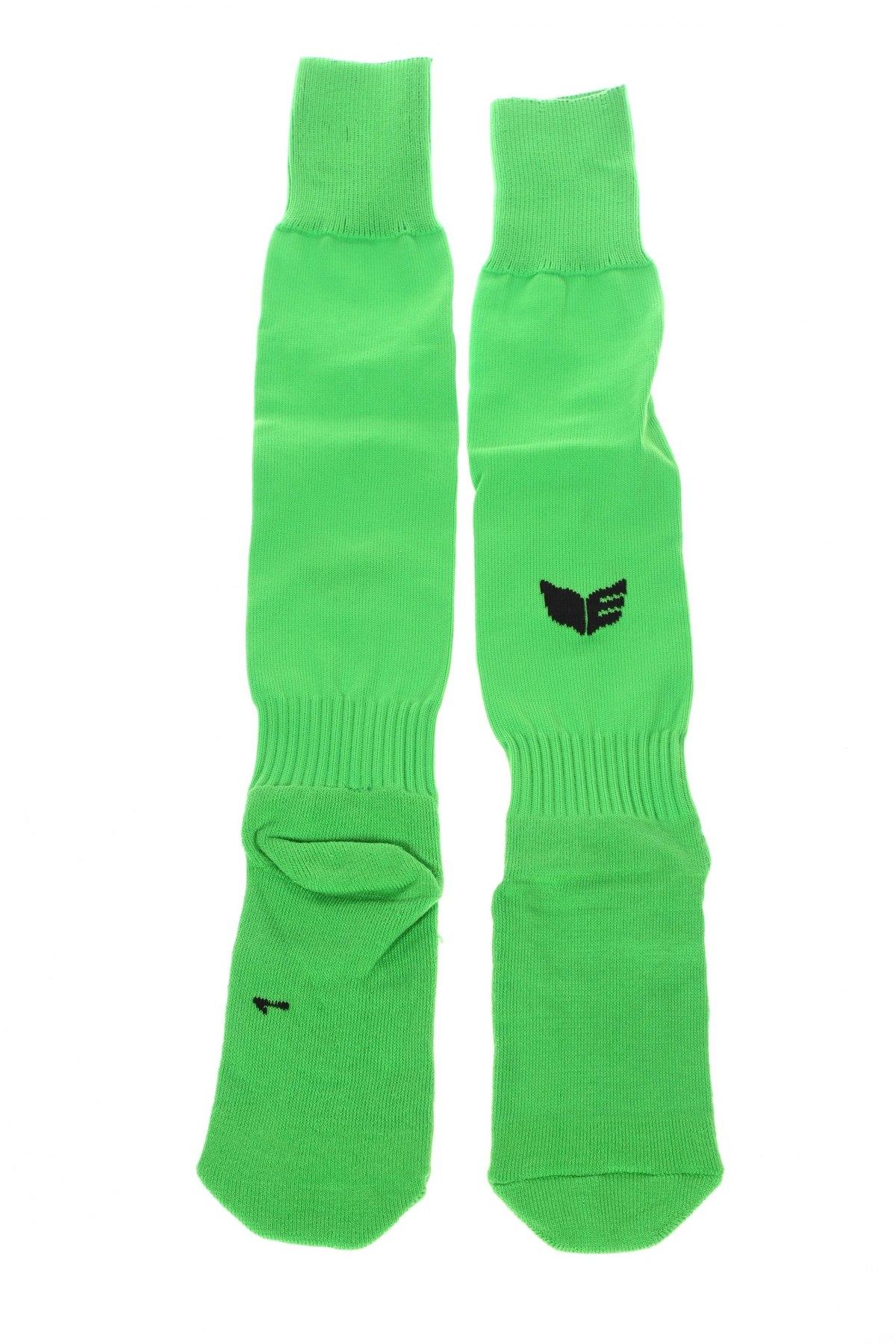 Детски спортни чорапи Erima, Размер 7-8y/ 128-134 см, Цвят Зелен, 64% полиестер, 21% памук, 15% еластан, Цена 16,56лв.