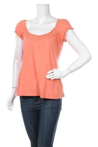 Дамска блуза Colours Of The World, Размер L, Цвят Оранжев, Памук, Цена 11,60лв.