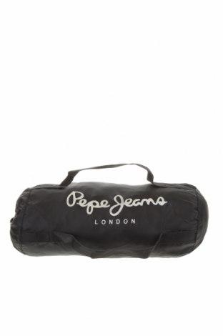 Чанта Pepe Jeans, Цвят Черен, Текстил, Цена 25,20лв.