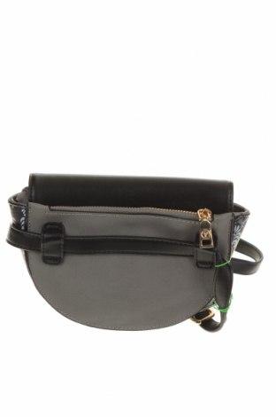 Чанта за кръст Verde, Цвят Сив, Еко кожа, Цена 14,75лв.