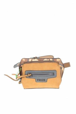Τσάντα Verde, Χρώμα  Μπέζ, Δερματίνη, Τιμή 16,12€