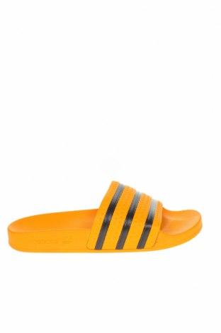 Чехли Adidas Originals, Размер 42, Цвят Оранжев, Полиуретан, Цена 38,35лв.