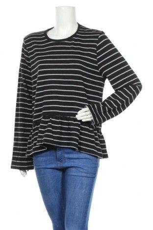 Дамска блуза, Размер XL, Цвят Черен, Полиестер, памук, Цена 6,92лв.