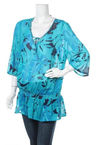 Дамска блуза, Размер M, Цвят Син, Полиестер, Цена 5,36лв.