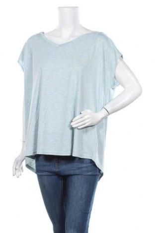 Дамска блуза Active By Tchibo, Размер XL, Цвят Син, 65% полиестер, 35% вискоза, Цена 7,88лв.