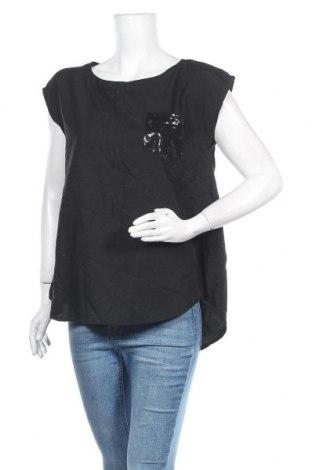 Дамска блуза Akkriti, Размер XL, Цвят Черен, Полиестер, Цена 15,75лв.