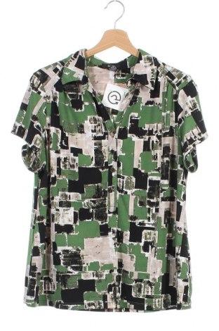 Дамска блуза Alfani, Размер XS, Цвят Многоцветен, 95% полиестер, 5% еластан, Цена 4,73лв.