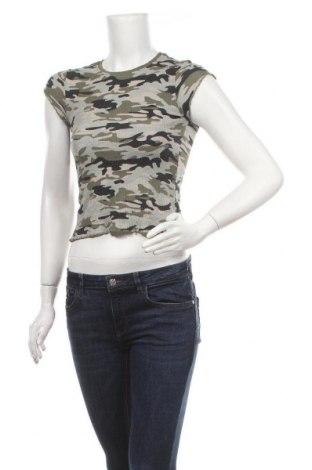Дамска блуза Almost Famous, Размер XS, Цвят Многоцветен, 95% памук, 5% еластан, Цена 14,18лв.