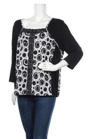Дамска блуза Amy Vermont, Размер XL, Цвят Черен, Цена 4,20лв.