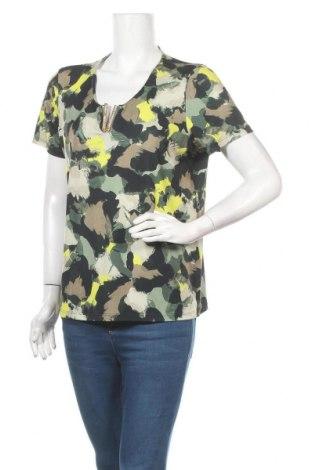 Дамска блуза Amy Vermont, Размер XL, Цвят Многоцветен, 95% полиестер, 5% еластан, Цена 17,01лв.