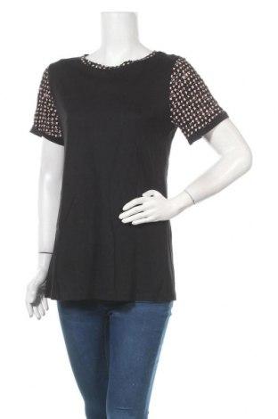 Дамска блуза Blanco, Размер M, Цвят Черен, 50% памук, 50% модал, Цена 22,26лв.