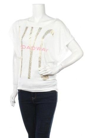 Дамска блуза Broadway, Размер S, Цвят Бял, 65% полиестер, 35% вискоза, Цена 14,28лв.