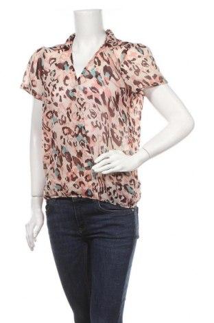 Дамска блуза Broadway, Размер L, Цвят Многоцветен, Полиестер, Цена 5,88лв.