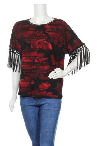 Дамска блуза Cellbes, Размер M, Цвят Червен, Памук, вискоза, Цена 16,96лв.
