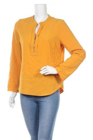 Дамска блуза Chicoree, Размер M, Цвят Жълт, 97% полиестер, 3% еластан, Цена 6,75лв.