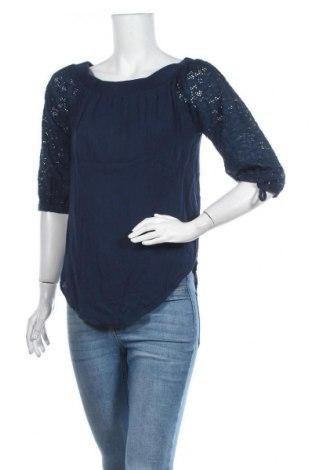 Дамска блуза Chicoree, Размер S, Цвят Син, Вискоза, Цена 5,53лв.