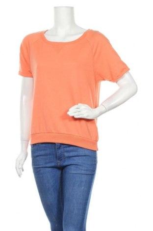 Дамска блуза Colours Of The World, Размер S, Цвят Оранжев, 65% полиестер, 35% памук, Цена 12,50лв.