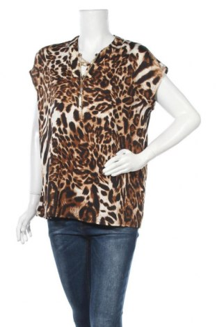 Дамска блуза Crossroads, Размер XS, Цвят Кафяв, 95% полиестер, 5% еластан, Цена 3,00лв.