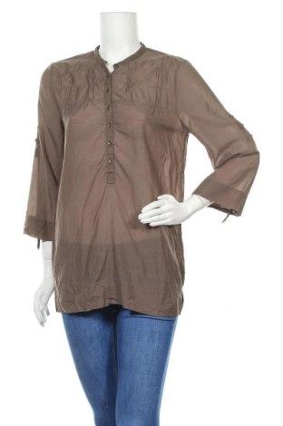 Дамска блуза Day Birger Et Mikkelsen, Размер S, Цвят Кафяв, 55% памук, 45% вискоза, Цена 24,50лв.