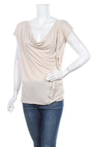 Дамска блуза De.corp By Esprit, Размер M, Цвят Бежов, Вискоза, Цена 4,64лв.