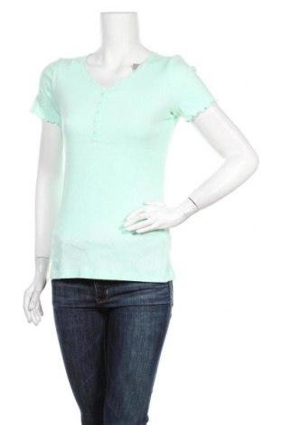 Дамска блуза Designer S, Размер M, Цвят Зелен, 100% памук, Цена 20,53лв.