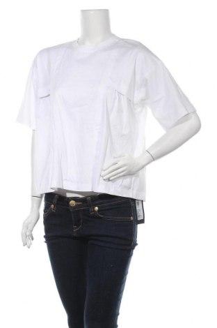 Дамска блуза Diesel Black Gold, Размер S, Цвят Бял, Памук, Цена 52,92лв.