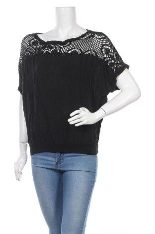 Дамска блуза Driver, Размер M, Цвят Черен, 60% памук, 40% вискоза, Цена 6,72лв.