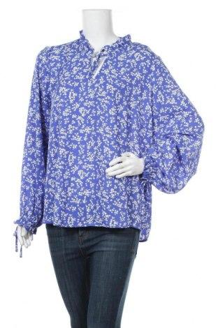 Дамска блуза Ellos, Размер XL, Цвят Син, Полиестер, Цена 14,96лв.