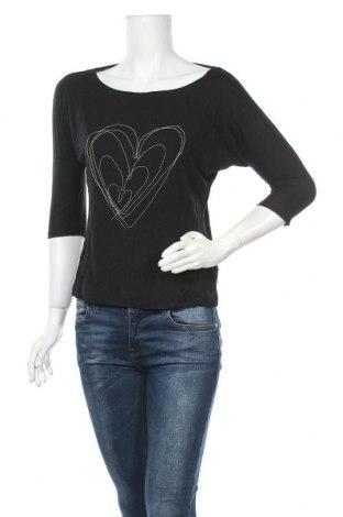 Дамска блуза Esprit, Размер S, Цвят Черен, Вискоза, Цена 6,25лв.