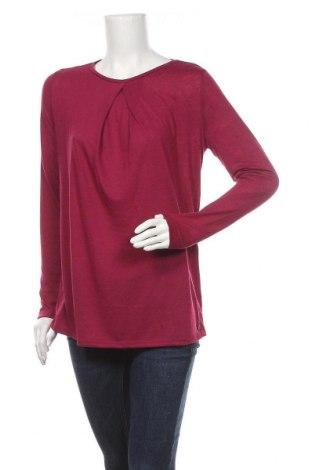 Дамска блуза Esprit, Размер L, Цвят Лилав, 80% полиестер, 20% лен, Цена 17,70лв.