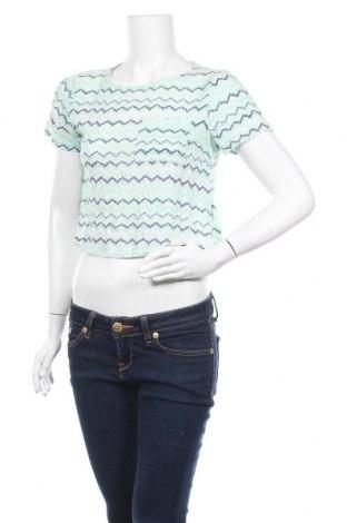 Дамска блуза H&M, Размер S, Цвят Зелен, Вискоза, Цена 3,00лв.