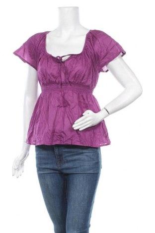 Дамска блуза H&M, Размер XS, Цвят Розов, Памук, Цена 3,00лв.