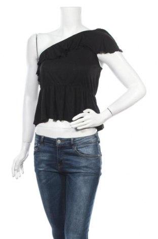 Дамска блуза H&M, Размер S, Цвят Черен, Вискоза, Цена 3,00лв.