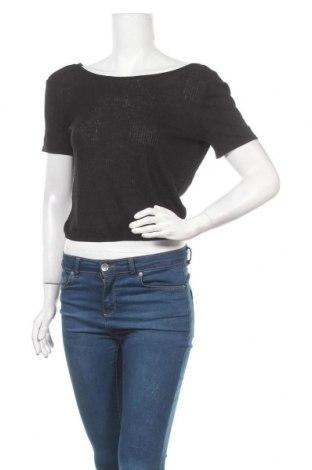 Дамска блуза H&M Divided, Размер XS, Цвят Черен, 70% вискоза, 30% полиестер, Цена 5,88лв.