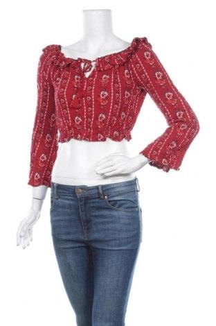 Дамска блуза H&M Divided, Размер S, Цвят Многоцветен, Вискоза, Цена 6,72лв.