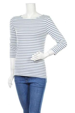 Γυναικεία μπλούζα Hallhuber, Μέγεθος M, Χρώμα Μπλέ, 47% βαμβάκι, 47% μοντάλ, 6% ελαστάνη, Τιμή 8,70€