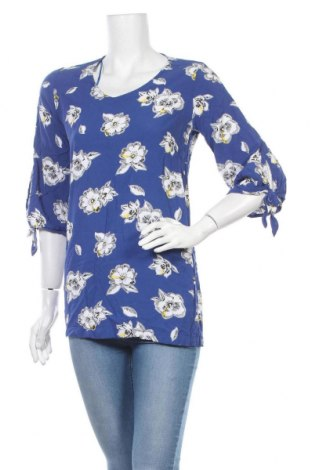 Дамска блуза Jean Pascale, Размер S, Цвят Син, Вискоза, Цена 4,26лв.