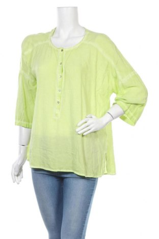 Дамска блуза Kenny S., Размер XL, Цвят Зелен, 100% вискоза, Цена 15,17лв.