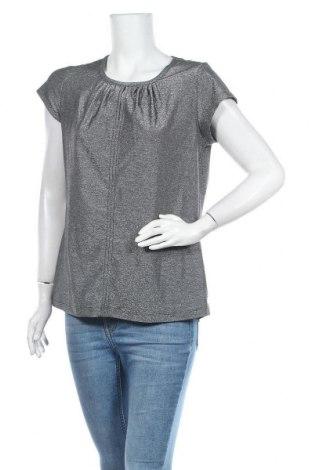 Дамска блуза Kenny S., Размер M, Цвят Сив, 54% вискоза, 44% метални нишки, 2% еластан, Цена 12,60лв.