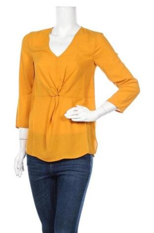Дамска блуза Kiomi, Размер S, Цвят Жълт, Полиестер, Цена 36,75лв.